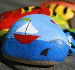 Camp Greenwood: Rock Painting
